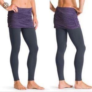 Athleta yin yang skirted leggings